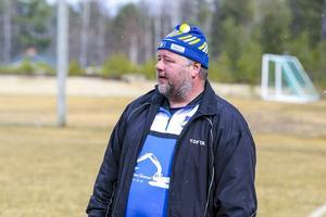 Lillhärdals IF:s tränare Anders Roos.