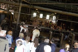 Flera hundra personer besökte Järnets dag i Karmansbo under lördagen.