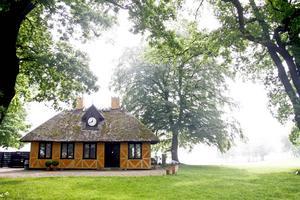 Den Gule Cottage är en av de bästa krogarna längs Strandvejen.