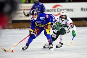 Jörgen Momqvist , här i Falu BS, är en av veteranerna som spelar med Rättviks u-lag.
