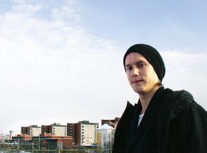 Mikael Filipsson är hemma igen efter det långa äventyret. En inte helt enkel omställning efter fem månader i kappsäck där han ständigt lärde känna nya ansikten.BILD: SAMUEL BORG