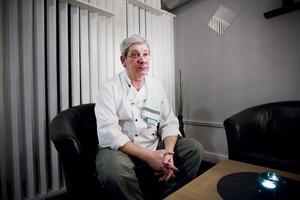 Yannis Eskitzis driver Restaurang 49 och kommer att sägas upp. Han vill hitta en lika bra plats där han kan driva restaurangen vidare. Foto: arkiv