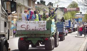 Uppsluppen stämning och gott om publik präglade karnevalen.