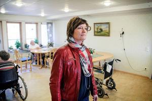 Katarina Hedberg (S) är ordförande för omvårdnadsnämnden.