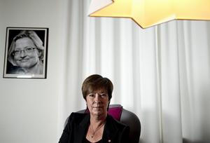 Svaret finns inte i det förflutna. Mona Sahlin (S) måste blicka framåt. Foto:PONTUSLUNDAHL / SCANPIX
