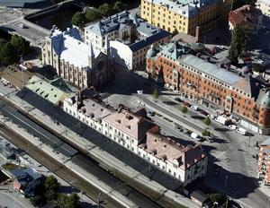 Gävle centralstation inklusive spårområdet ska utvecklas och få nya spår.