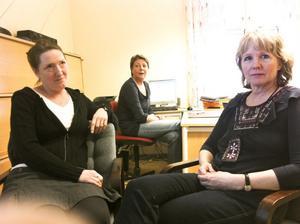 Anna Söderström, Katharina Eriksson och Maria Olofsson är skolsköterskor i Sollefteå kommun. Tillsammans med sina andra kollegor har de sett sig tvungna att anmäla kommunen till Socialstyrelsen.