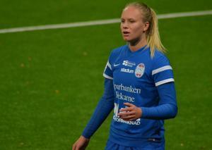 Matilda Plan gjorde allsvensk startdebut för Eskilstuna United tidigare i höstas.