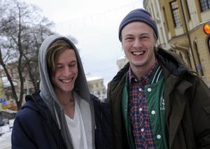 Richard Hansson och Samuel Larsson har gjort succé med sin egna version av One Directions hit