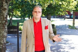 Hans Granlund, (V), menar att det är krävande för kommunen när antalet barn ökar i Fagersta.