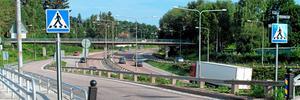 Krutkällarbron över E 18.