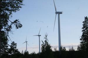 Nordanstigs enda vindsnurror hittills finns att beskåda några kilometer från Stocka