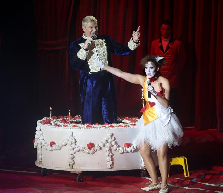 Trodde aldrig jag skulle fylla cirkus