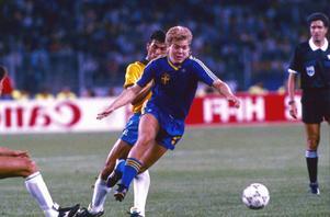 Tomas Brolin blev den 37:e svenska fotbollsspelaren som valdes in i