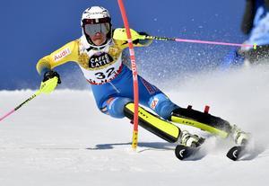 Anna Swenn Larsson i VM i St Moritz.