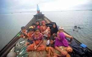 Rohingyas flyr mot Malaysia i osäkra farkoster. Foto: Privat