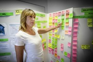 Lena Lago är projektledare för K2. Projektet startade i oktober 2012 och pågår till och med den 30 juni 2014. Sammanlagt ska 645 personer under den tiden ha passerat genom projektet.