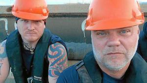Daniel Bakke och Pelle Helgesson greps i Tunisien november 2012. /Arkivfoto privat