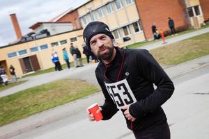 Jens Larsson, Ösk, sprang halvmaran på 1.30,39.
