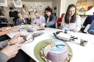 Bäst i Europa, och en av de bästa i världen. Framgångarna för Mittmedia internationellt firades under onsdagen med ett rejält tårtkalas.