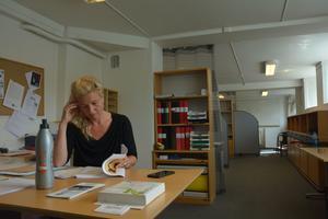 Stina Haglund ägnar mycket tid åt jämställdhetsfrågor.