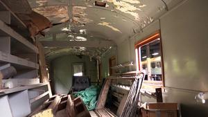 En av de två personvagnar som föreningen ska renovera framöver.