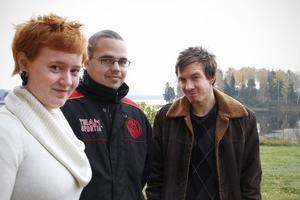 Caroline Blomberg, Mikael Olsson och Mattias Lindblom har fått en ny chans i skolan genom den studiemotiverade folkhögskolekursen.