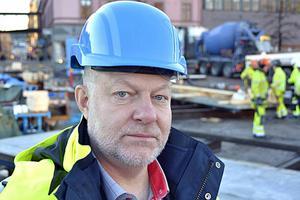 Berndt Jonsson är regionchef för Sveriges Byggindustrier, Södra Norrland.