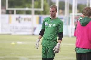 Daniel Svensson står för VSK mot IK Brage.