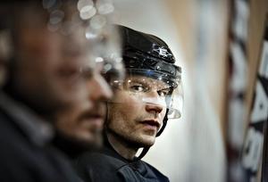 Antti Hulkkonen på dagens träning i Hallsberg.
