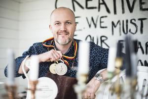 Guld och silver blev det i senaste matlagnings OS för Niklas Edgren och hans team.