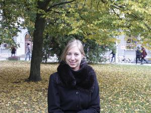 Helena Slawinska går Mastersutbildning i juridik vid Stockholms universitet.