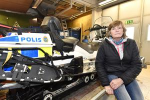 Lena Nilsson, polisen Idre
