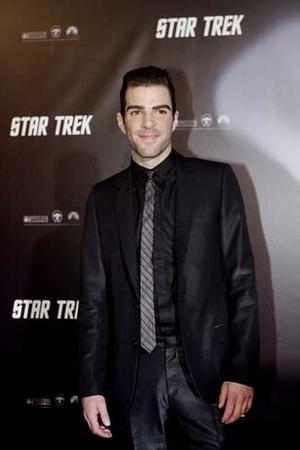 Hollywoodstjärnan Zachary Quinto gör rollen som Spock i den elfte