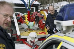 Barnkarusellen återfanns klockan halv två på måndagseftermiddagen.