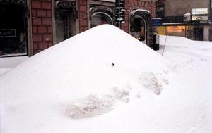 Är det ännu en bil under snömassorna?