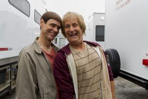 Jim Carrey och Jeff Daniels.