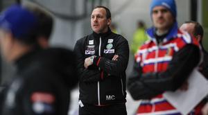 Michael Carlsson, tränare i VSK.