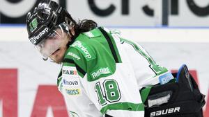 Dennis Everberg, vars pappa Paul spelade i VIK, lämnar Rögle för NHL.