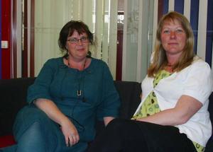Gabriella Persson och Eva Bäck räknar med att inflyttningen kommer att kunna öka i de deltagande kommunerna.