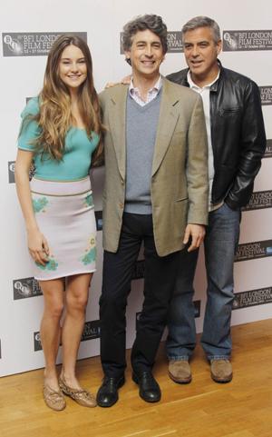 """I Alexander Paynes Oscarsnominerade film """"The Descendants"""" spelar Shailene Woodley och George Clooney huvudrollerna."""