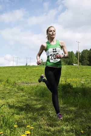 Över 70-lag ställde upp i årets upplaga av Indalsledenloppet. Här är en av Trångsvikens IF:s tävlande i Järrkvissle.