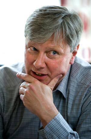 Vänsterledaren Lars Ohly opererades akut på Falu lasarett. Foto: Mikael Hellsten/Arkiv