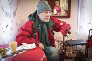 – Den här verksamheten behövs, för det är många som är bostadslösa i Östersund, säger stamgästen Lasse Östlund.