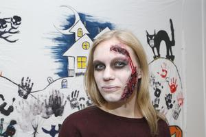 Zombiesminkning.