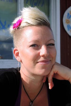 Angelica Sjöholm kommer ursprungligen från Vittinge, men har bott i Dalarna i snart 15 år.