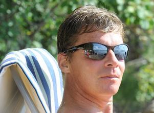 Tommy Nilsson bor i Varberg, men spenderar gärna sina somrar här i hälsingland.