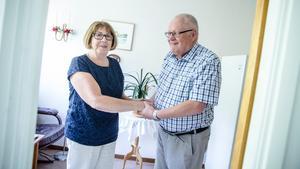 Berit och Gösta Jönsson har i dag varit gifta i 50 år.