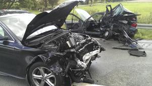 Dödsolycka. VLT får kritik för namnpublicering i samband med två dödsolyckor. Här en bild från den andra dödsolyckan, den i Tyskland.