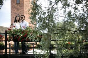 7 juli 2014: DT får ett exklusivt möte med det nyförlovade prinsparet i Falun.